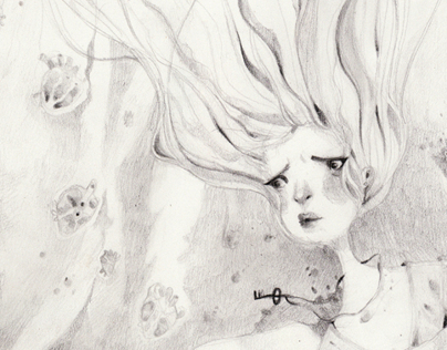 Curiosities {Graphite illustrations}