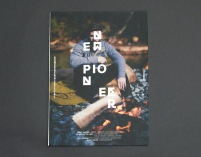 New Pioneer Magazine Rebrand