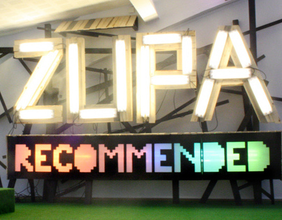 ZUPA/Recommended - Light installation