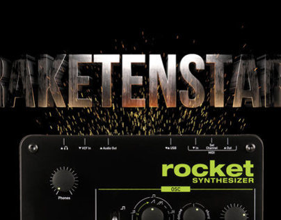 Waldorf Rocket Synthesizer Advertisement