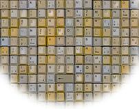 2011 Typographic Wall Calendar