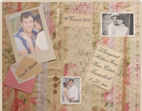 Wedding Stationary: Save the date e-invites