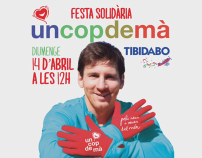 """Un cop de mà"", NGO project with Leo Messi"