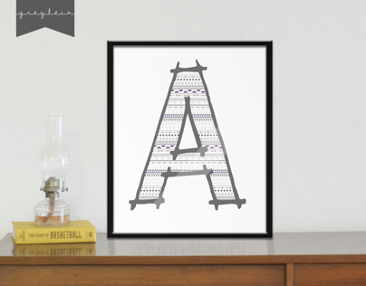 Initials | Kids room decor (4)