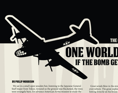 Editorials about the Atomic Bomb