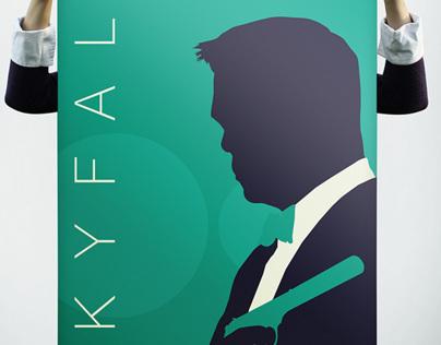 Minimalistic James Bond Posters