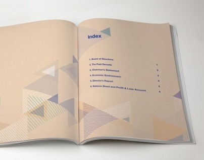 Exim Bank Annual Report- Publication Design