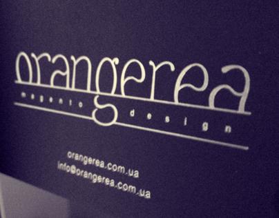 Orangerea studio Identity