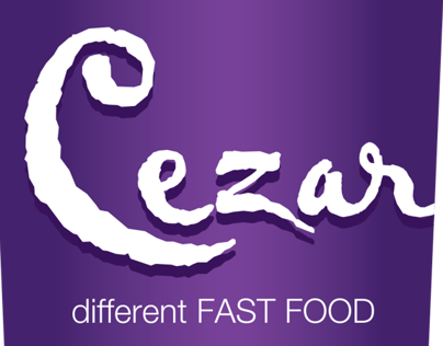 Cezar different fast food | Uniform design