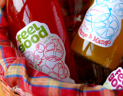 Label Design – Feel Good Drinks co.