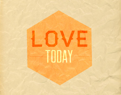 Typography - Love Today