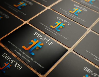 SEVINTE LOGO & BUSINESS CARDS