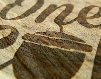 Engraved Log