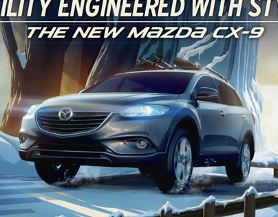 Mazda CX9-Incredible World