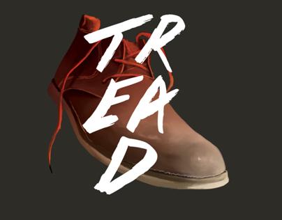 Tread Mens Footwear - Identity & Packaging