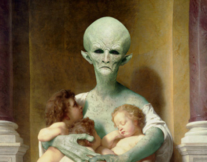 Bouguereau Alien Virgin