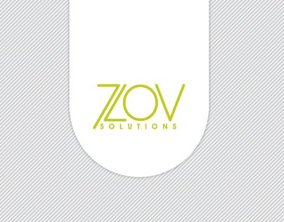 ZOV Solutions Corporate identity