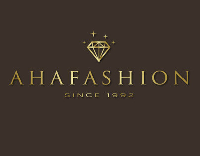 Aha Fashion Logo Design