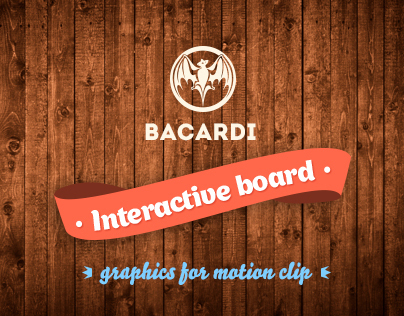Bacardi Interactive board