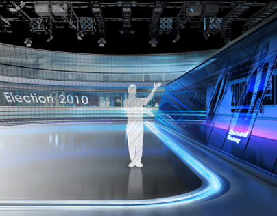 Elections Virtual Studio - Al Hayat TV