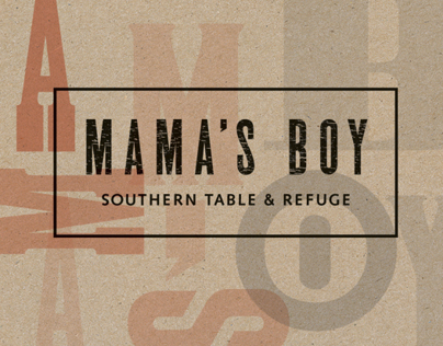 Mamas Boy Southern Table & Refuge Brand + Print