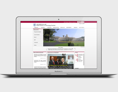 IIT ROORKEE Main Website