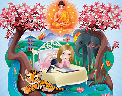 The Buddhas Apprentice (childrens book)
