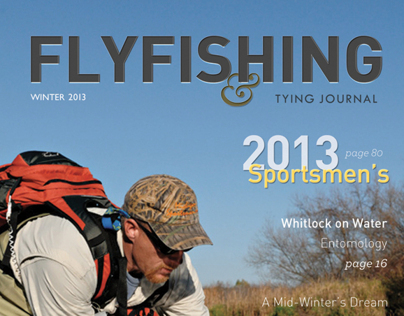 Flyfishing & Tying Journal Redesign