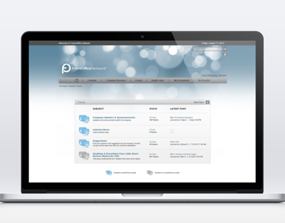 FutureOffice Network Intranet