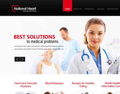 National Heart Website