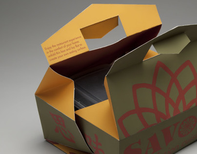 Packaging Redesign: Savor