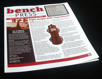 Bench Press Newsletter