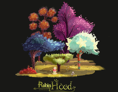 Robin Hood, Visual Development Spring 2013