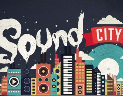 SOUND CITY ILLUSTRATION FOR UNO GUAM MAGAZINE
