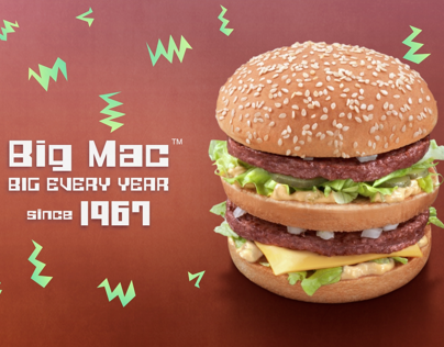 Motion Graphics For BIG MAC Arabia