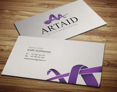 ARTAID - Logo & business card