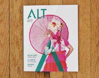 Grand Views Honors ALT Magazine, Volume 7.