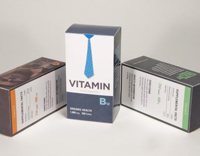 Vitamins Box Designs