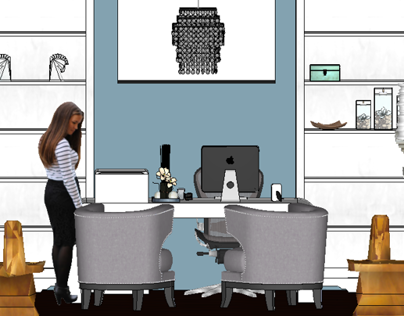 Office Design - SketchUp