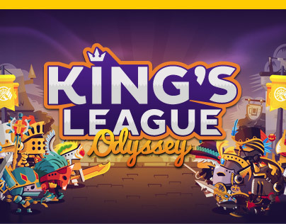 Game Art of The Kings League : Odyssey