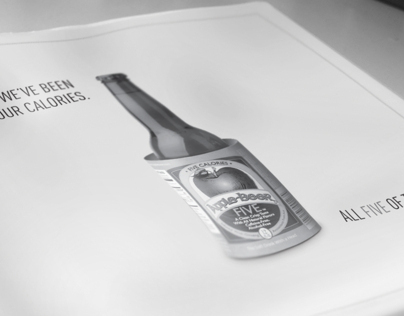Apple Beer Newspaper Ad