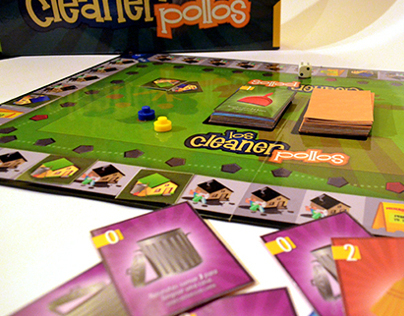 Cleanner Pollos BoardGame