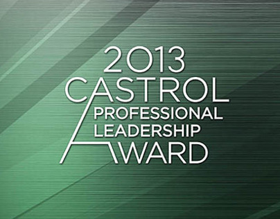 Castrol Professional Leadership Award 2013