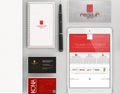Reaktif Agency Corporate Identity