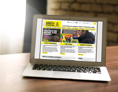 Amnesty international France - Extranet