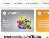 Rogers Vending Website Redesign