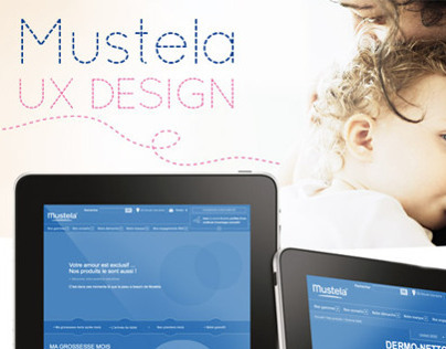 MUSTELA WEBSITE - UX DESIGN