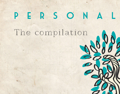 Cd Cover design for PERSONAL.I.Z