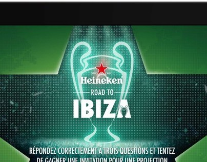Heineken UEFA iPad application