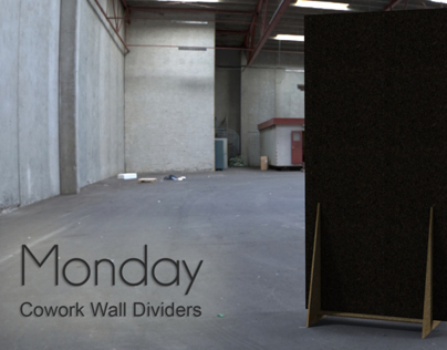 Monday | Co-Work Wall Dividers | 2012
